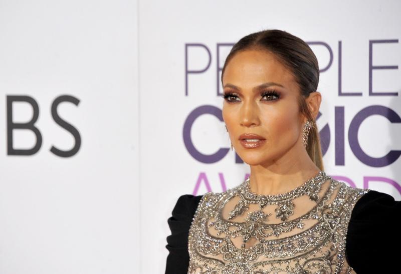 Jennifer Lopez Embellished Top Cropped