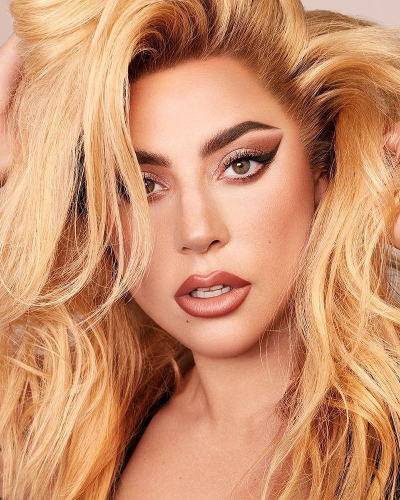 Singer Lady Gaga fronts Haus LaboratoriesEdge Precision Brow Pencil campaign.