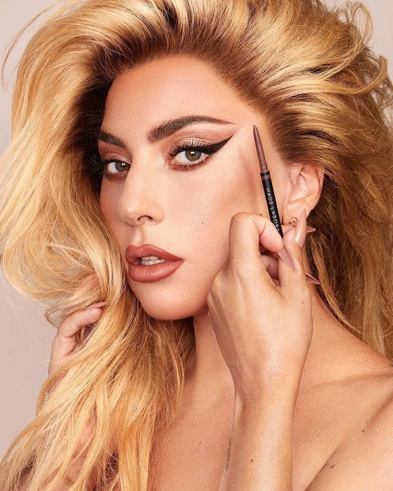Haus Laboratories unveils Edge Precision Brow Pencil campaign with Lady Gaga.