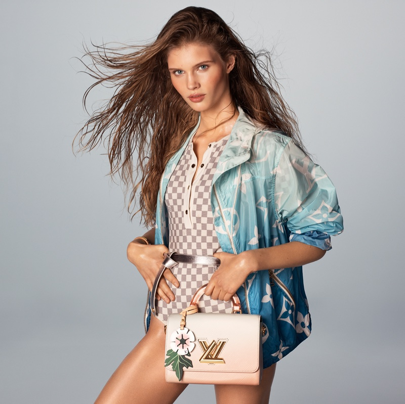 Louis Vuitton features Monogram Gradient designs for Summer by the Pool 2021 collection.