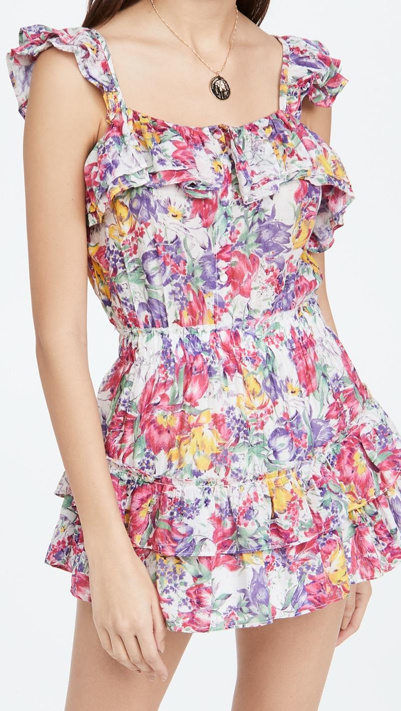 LoveShackFancy Marina Dress $495