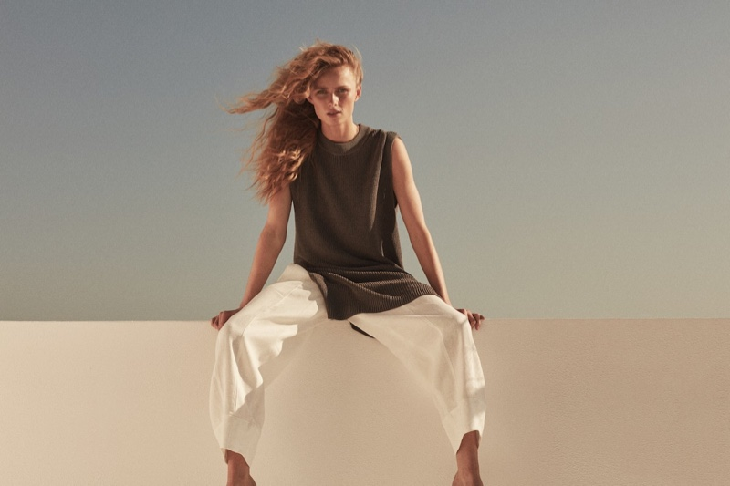 Massimo Dutti features linen designs in Limited Edition spring-summer 2021 collection.