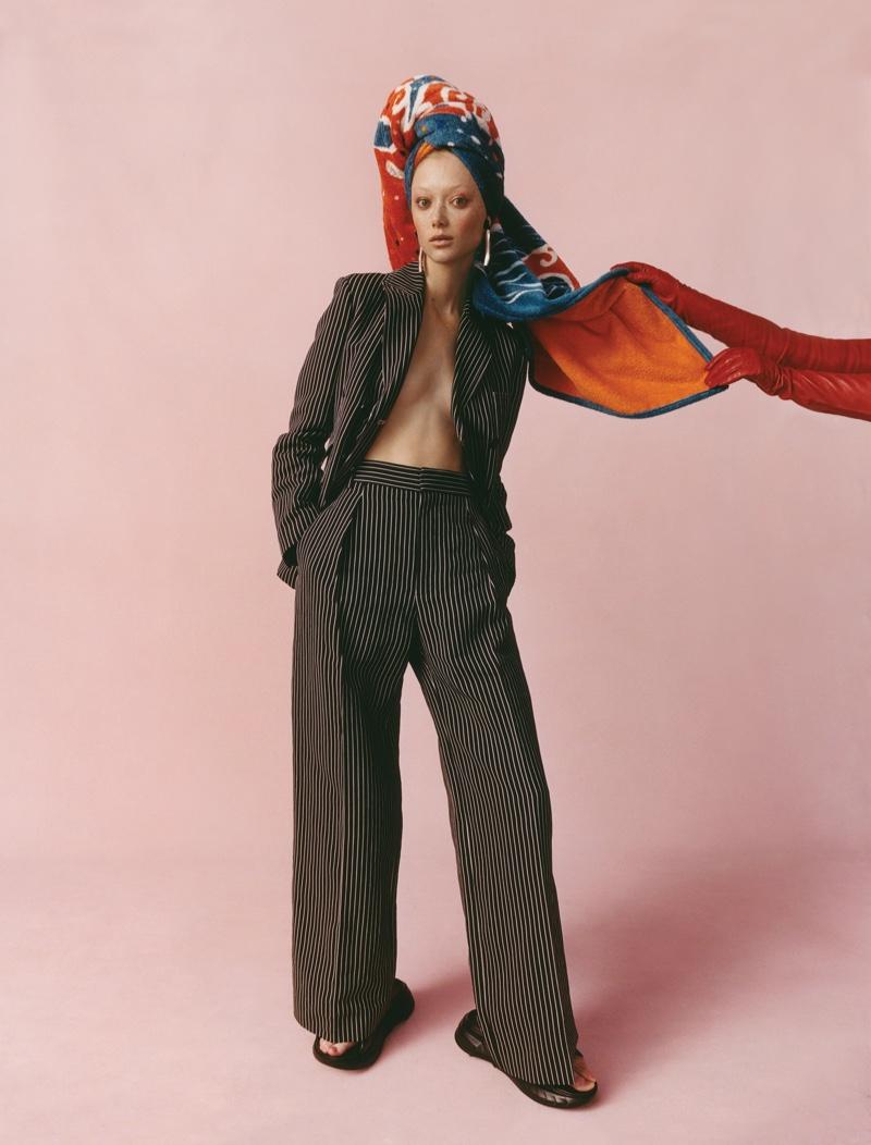 Sara Grace, Tess & Tianna Wear Maximalist Styles for WSJ. Magazine