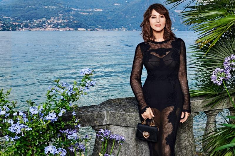 Dolce & Gabbana unveils 2021 Devotion handbag campaign.