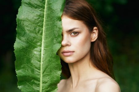 Natural Beauty Model Leaf Outdoors