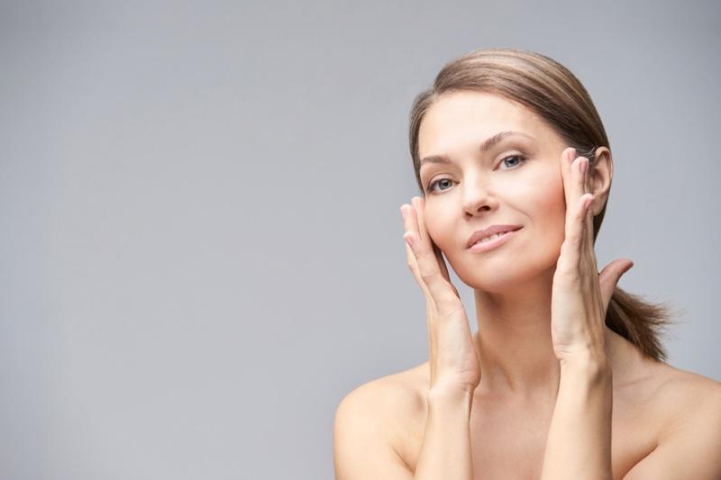 Older Woman Skin Beauty