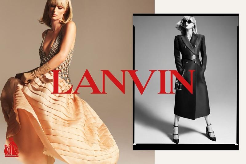 Lanvin taps Paris Hilton for its spring-summer 2021 campaign.