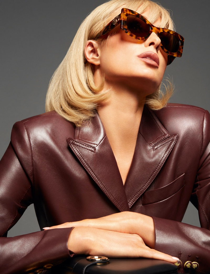 Sunglasses stand out in Lanvin spring-summer 2021 campaign.