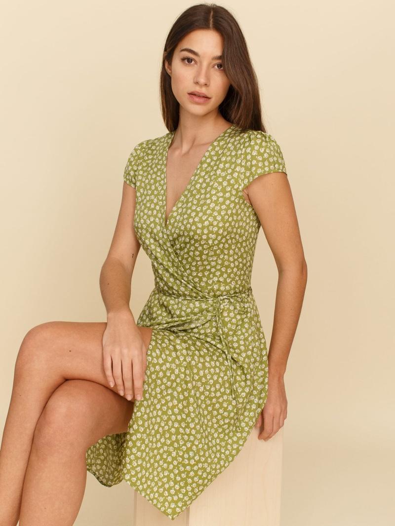 Reformation Zena Dress in Jessie $148