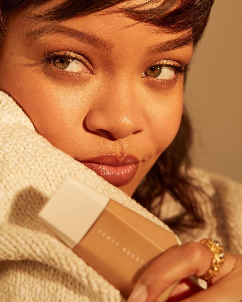 Rihanna stars in Fenty Beauty Eaze Drop campaign.