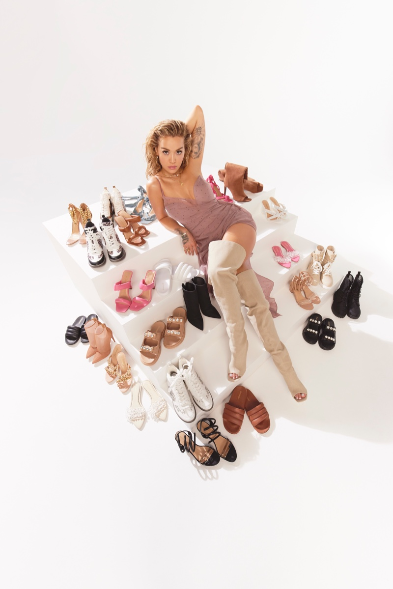 Rita Ora x ShoeDazzle unveils spring 2021 collaboration.
