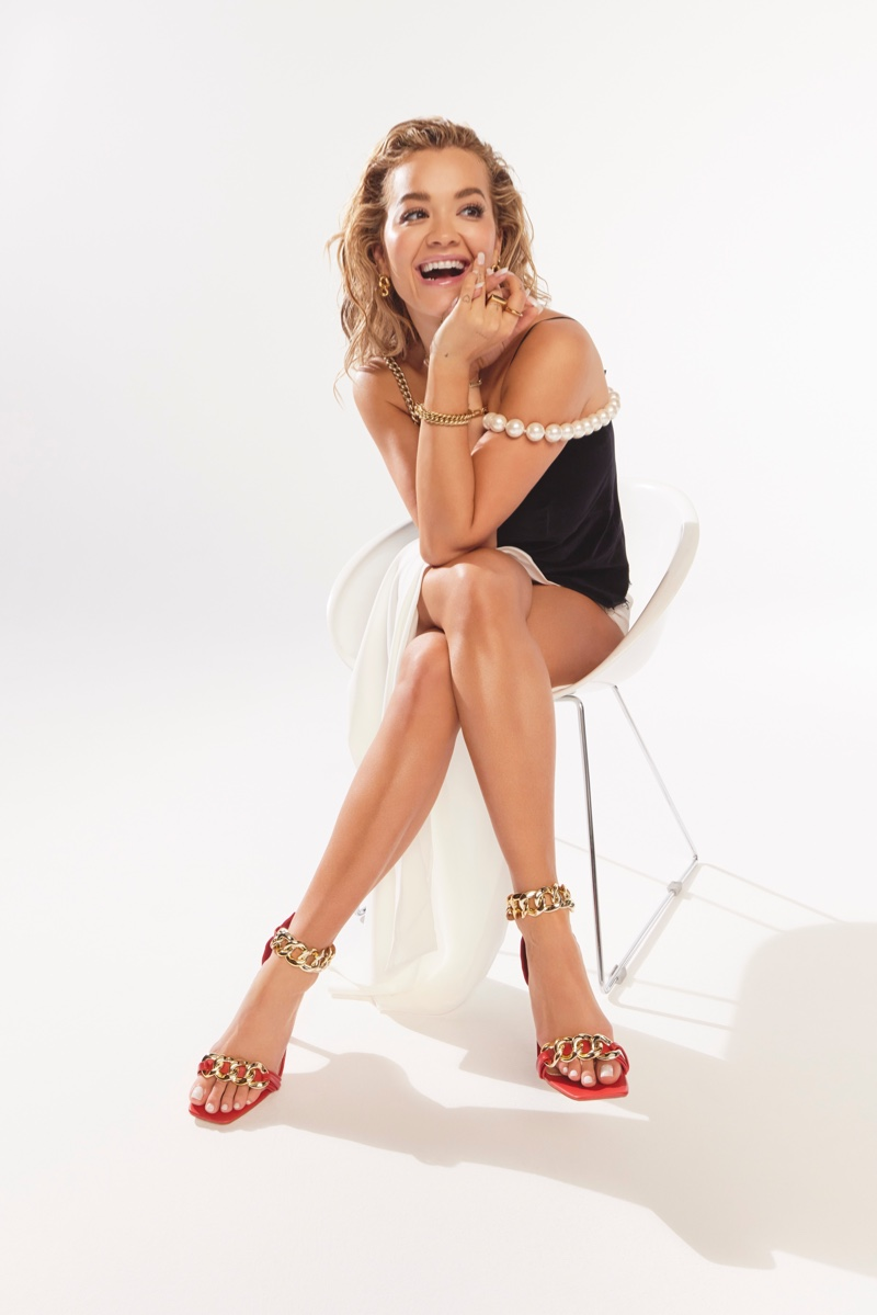 ShoeDazzle teams up with singer Rita Ora for spring 2021 collection.