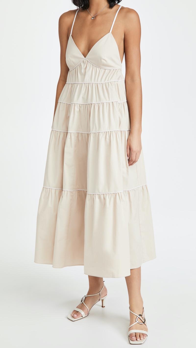 STAUD Cleo Dress $316