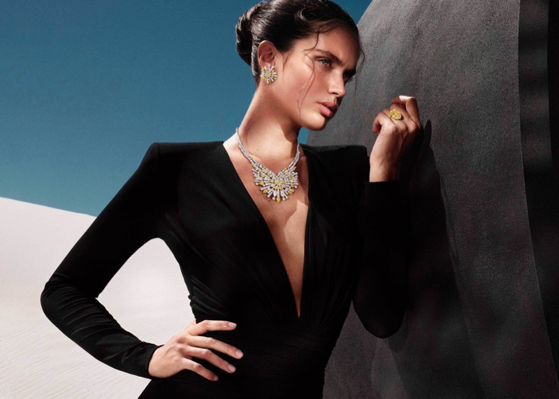 Graff launches Tribal jewelry campaign.