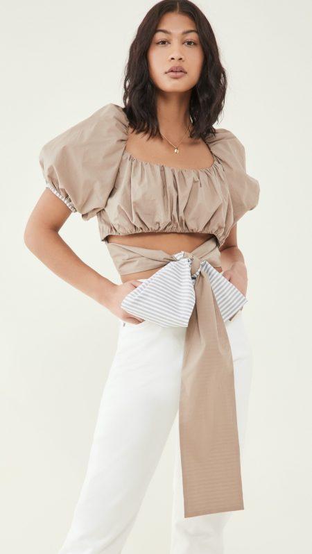 Silvia Tcherassi Coconut Top $460