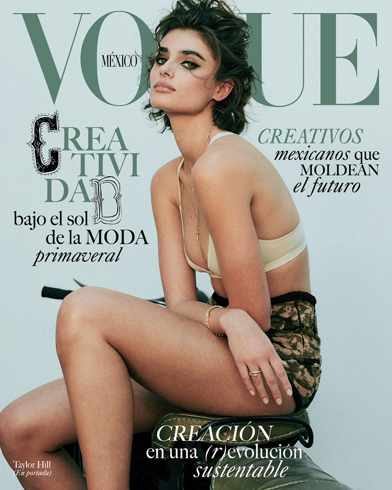Taylor Hill on Vogue Mexico March 2021 Cover