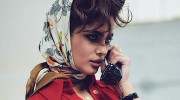 Taylor Hill Embraces Retro Fashion for Vogue Mexico