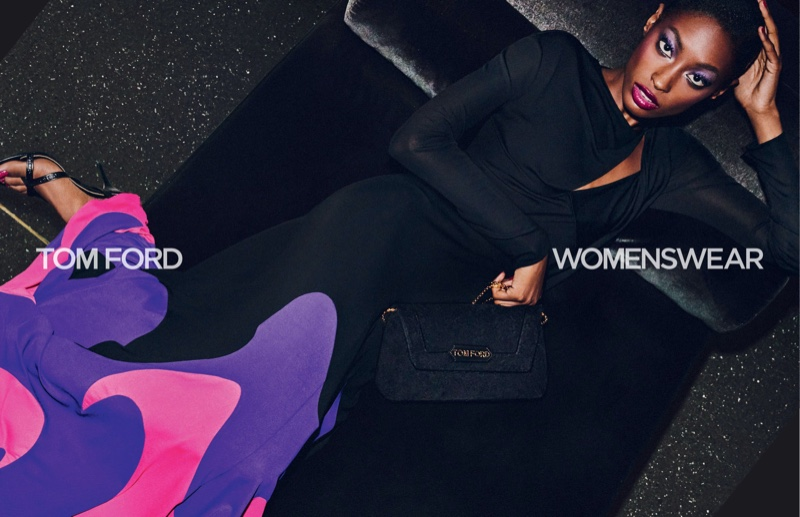 An image from Tom Ford's spring 2021 advertising campaign.