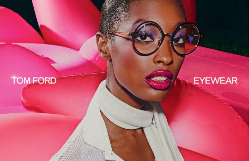 Tom Ford Eyewear spring-summer 2021 campaign.