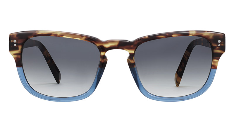Warby Parker Conroy Sunglasses in Hudson Blue Fade $95