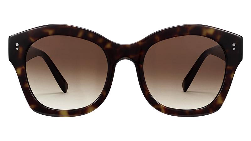 Warby Parker Gael Sunglasses in Cognac Tortoise $95