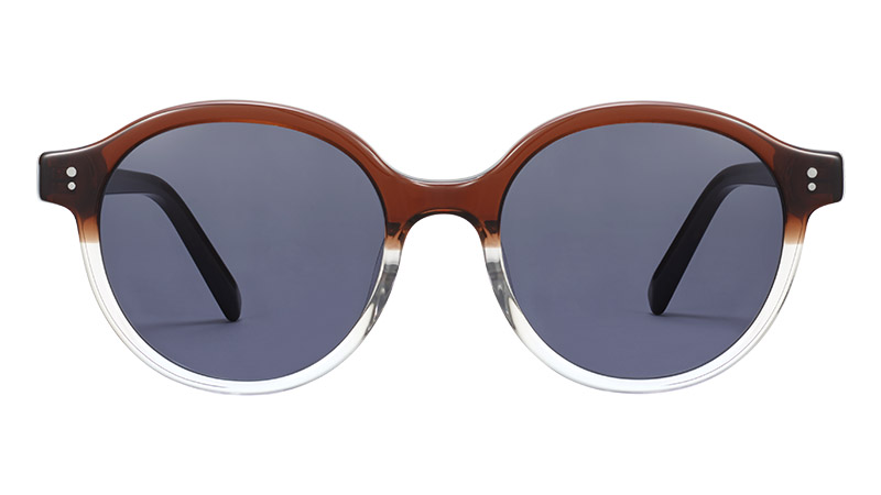Warby Parker Golding Sunglasses in Americano Crystal Fade $95