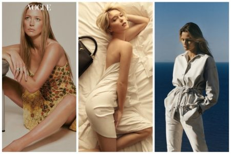 Week Review | Raquel Zimmermann's New Cover, Edita V in IRO, Lea Seydoux for Louis Vuitton + More