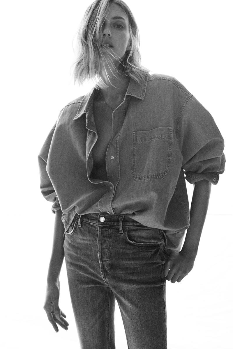 Zara unveils its spring-summer 2021 denim styles.