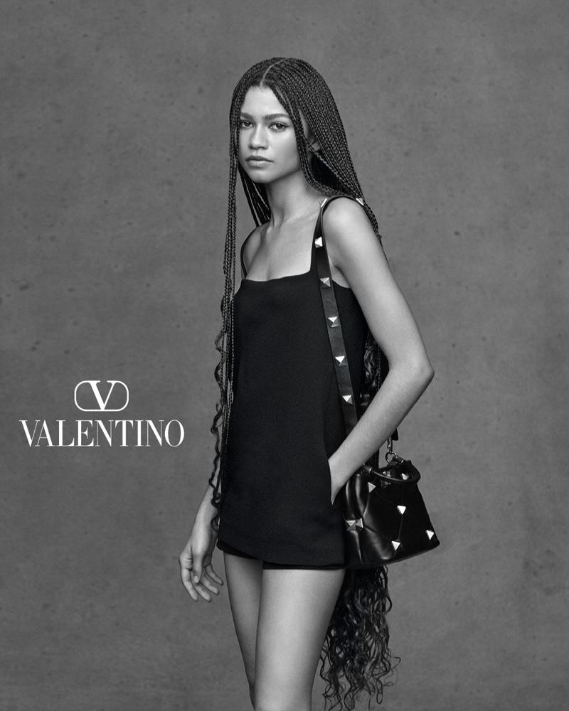 Zendaya stars in Valentino Collezione Milano campaign.