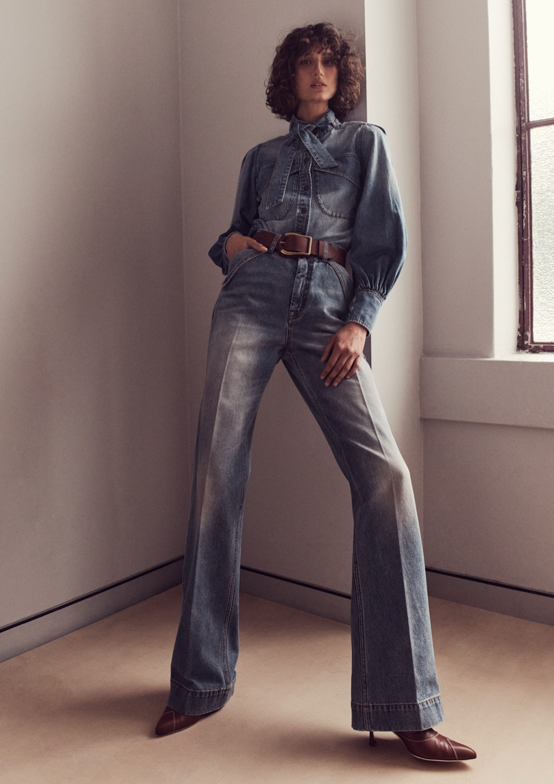Zimmermann launches spring 2021 denim capsule collection.