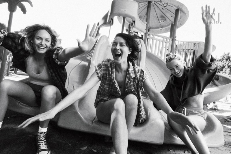 Shalom! Carolyn! Amber! WSJ. Magazine Features 90s Supermodels
