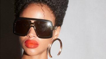 Aya Jones Models Bold Shades for M Milenio Magazine