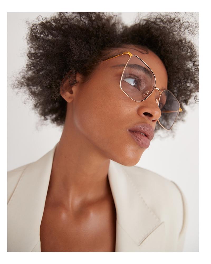 Aya Jones Models Bold Shades for M Milenio Magazine