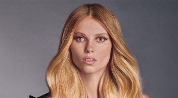 Vika Falileeva stars in Balmain Hair Couture spring-summer 2021 campaign.
