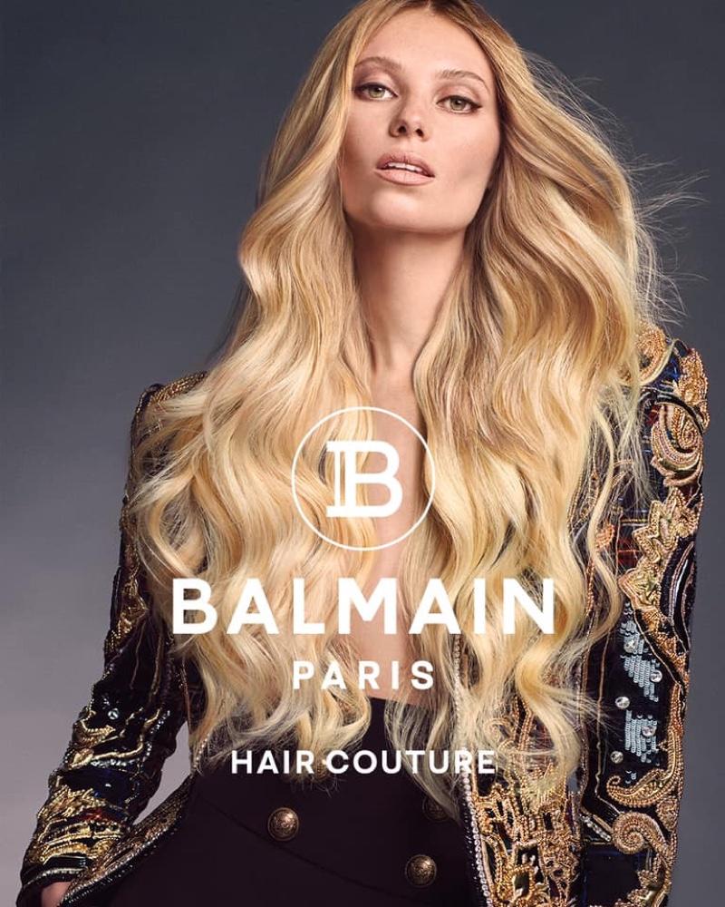 Balmain Hair Couture spring-summer 2021 campaign.