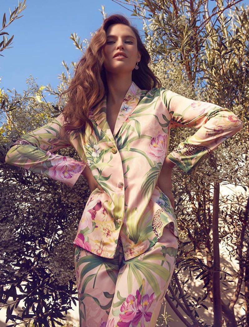 Yamamay Tropical Garden pajama set.
