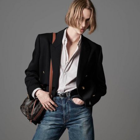 Quinn Mora Wears the Essentials for Celine Les Grand Classiques Campaign