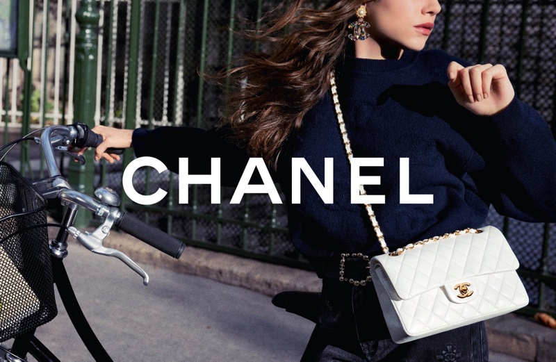 Inez & Vinoodh photograph Chanel Iconic Bag 2021 campaign.