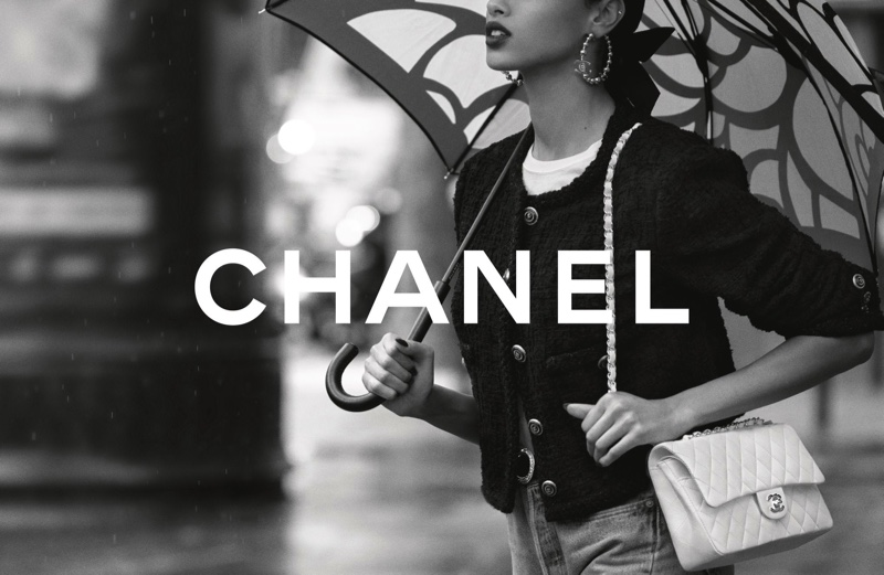 Chanel Iconic Bag 2021 campaign photographed in Paris.
