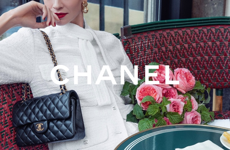 Chanel Iconic Bag 2021 campaign features the 11.12 style.