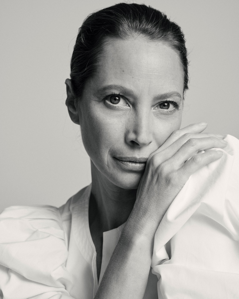Supermodel Christy Turlington poses for Lafayette 148 #UnordinaryWomen campaign.