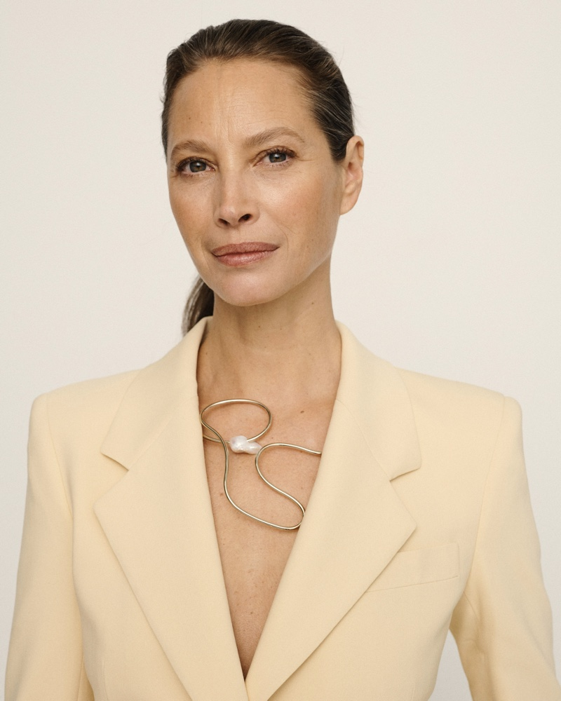 Christy Turlington appears in Lafayette 148 #UnordinaryWomen campaign.