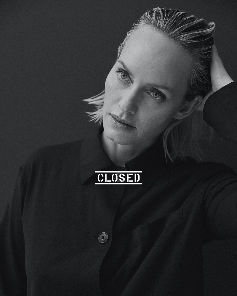Amber Valletta stars in Closed spring-summer 2021 campaign. Photo: David Roemer