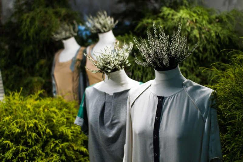 Clothing Mannequins Sustainable Concept
