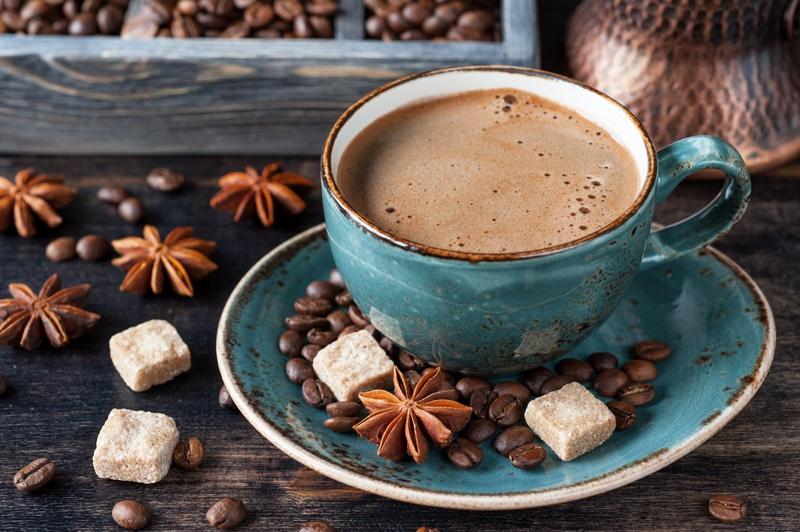 Coffee Cup Sugar Beans Spices