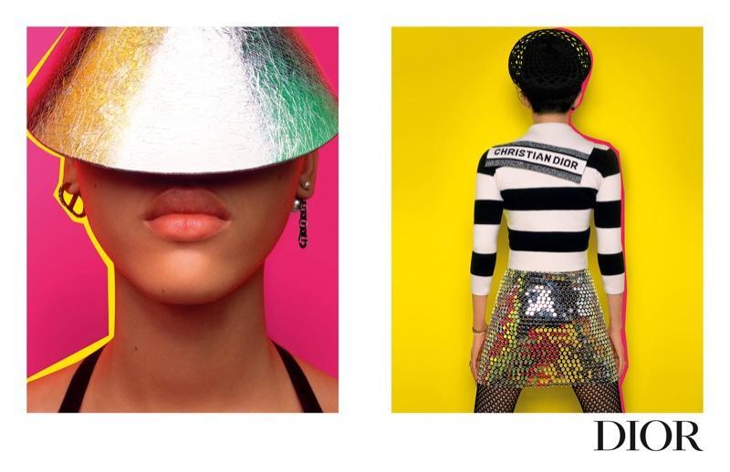 Sculy Mejia stars in Dior pre-fall 2021 campaign.