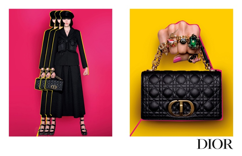 Dior focuses on accessories for pre-fall 2021 campaign.