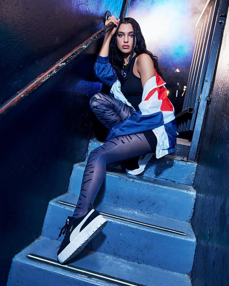 Dua Lipa stars in PUMA Mayze sneaker campaign.