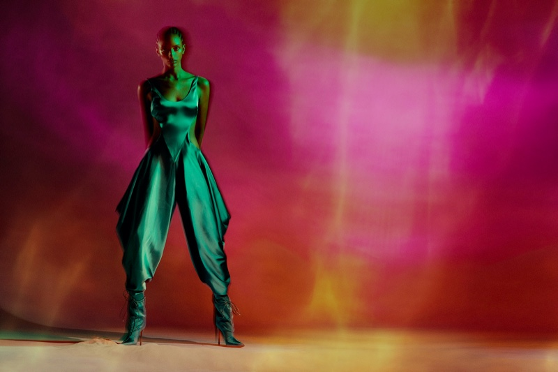 Emmanuelle Lacou Poses in Dreamy Styles for Grazia