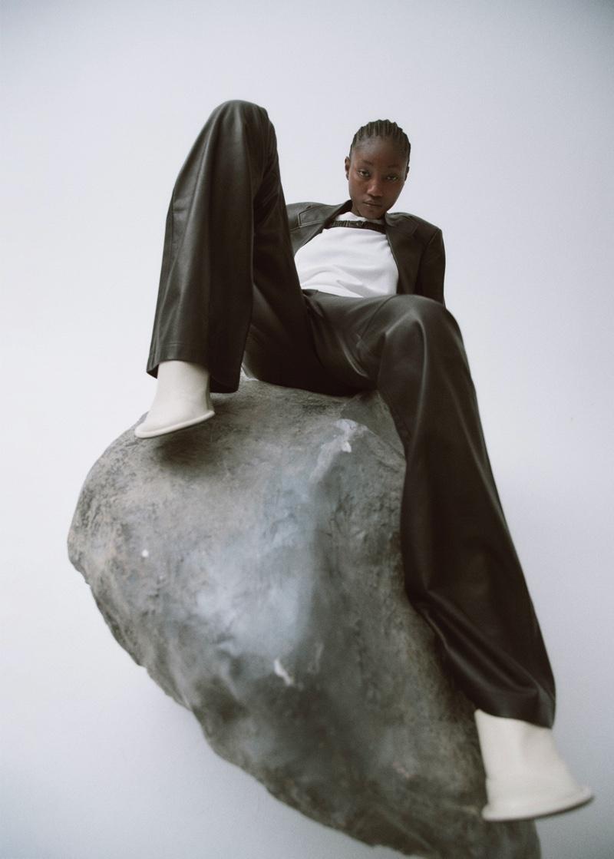 Eniola Abioro Models Monochromatic Looks for Puss Puss Magazine